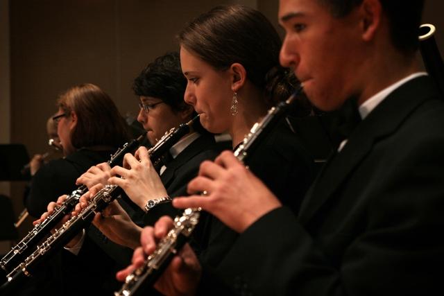 WSS Youth Symphony oboists
