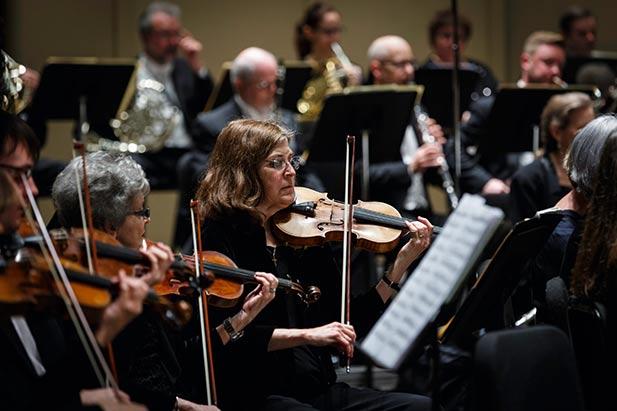 Violinist Lauren Kossler