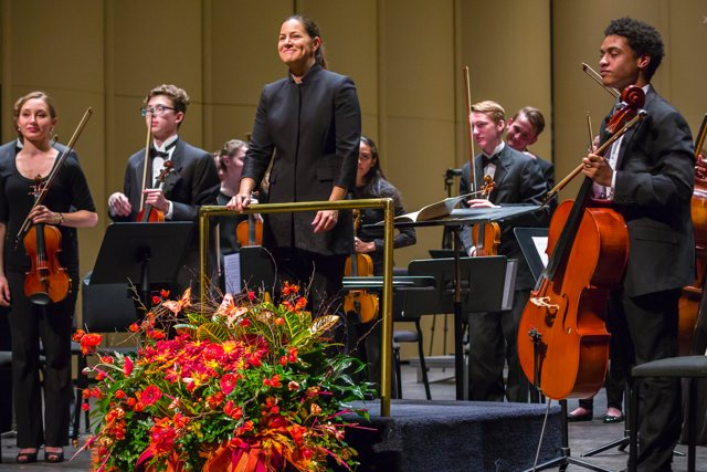 Jessica Morel leads the Youth Symphony