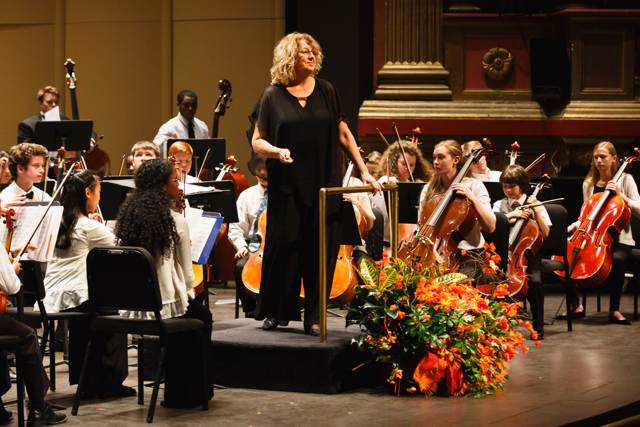 margaret Rehder leads the Youth Philharmonic