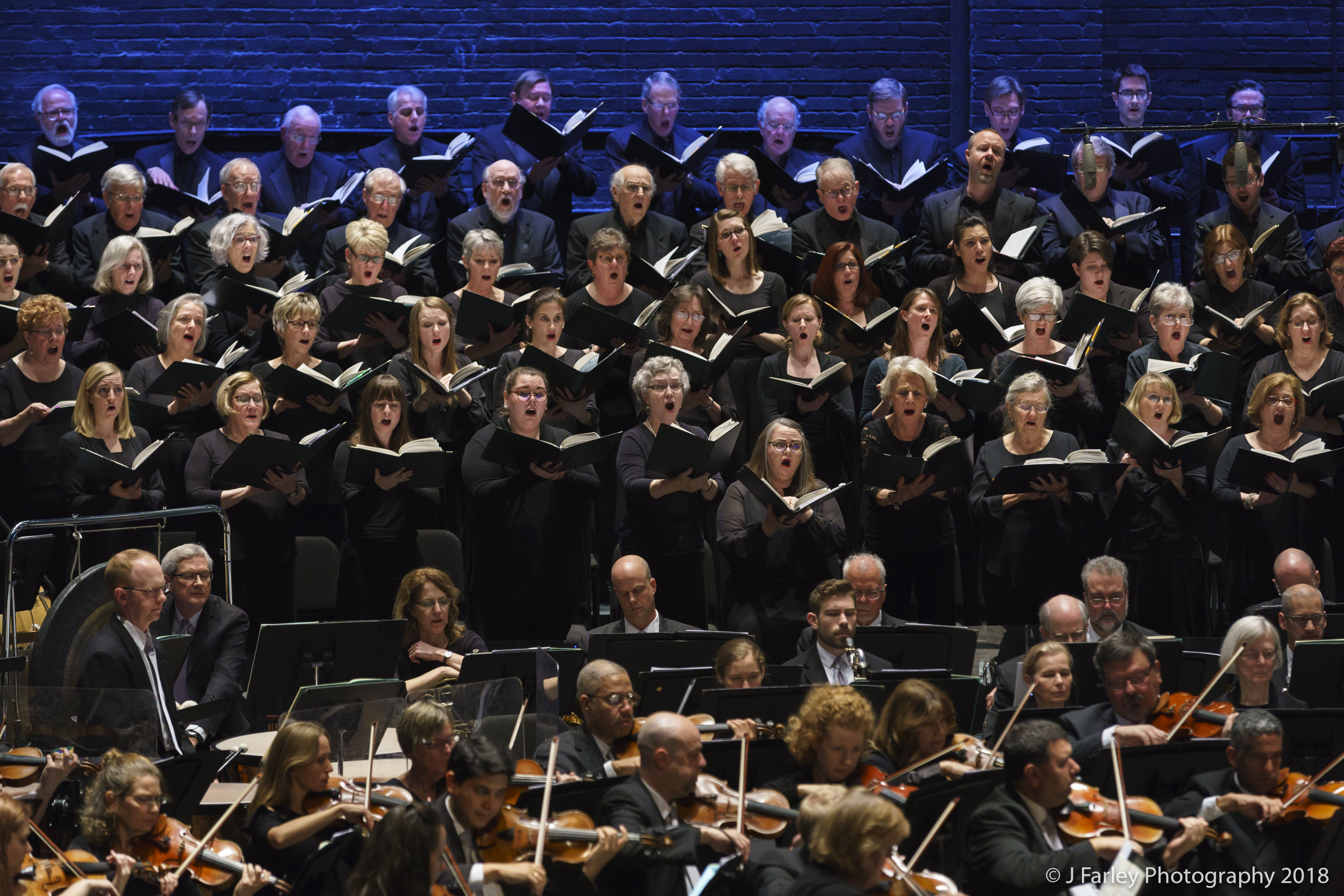 The Symphony and Chorus