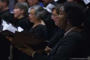 The alto section of the Symphony Chamber Chorale.